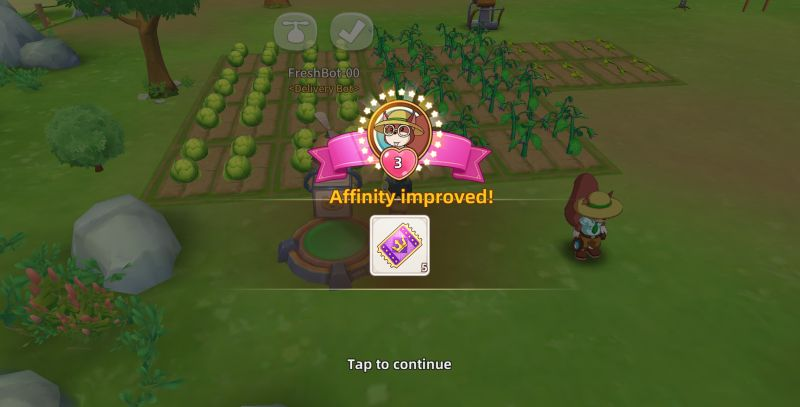 how to improve affinity in tour of neverland