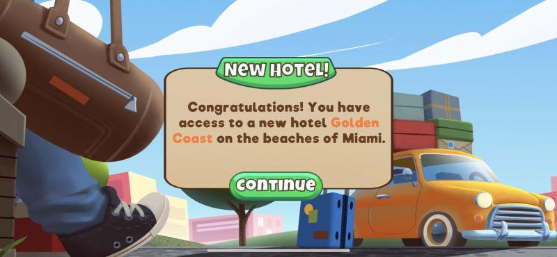 how to unlock new hotel in doorman story