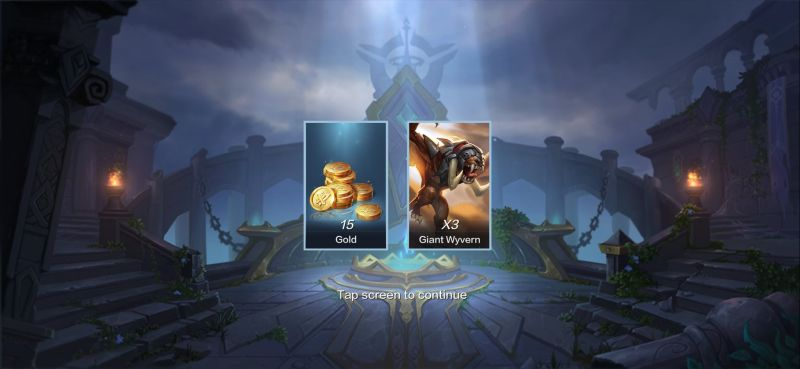 warbound storm giant wyvern card
