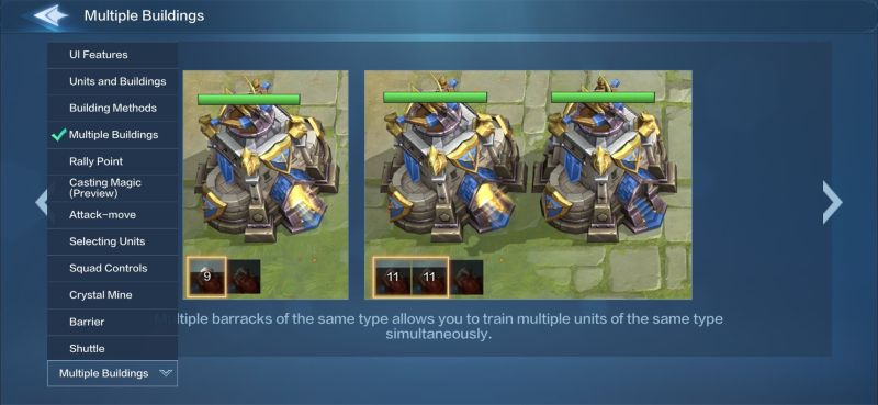 how to train multiple units in warbound storm