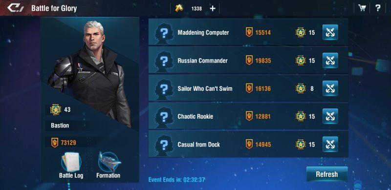 warship legend daily challenge