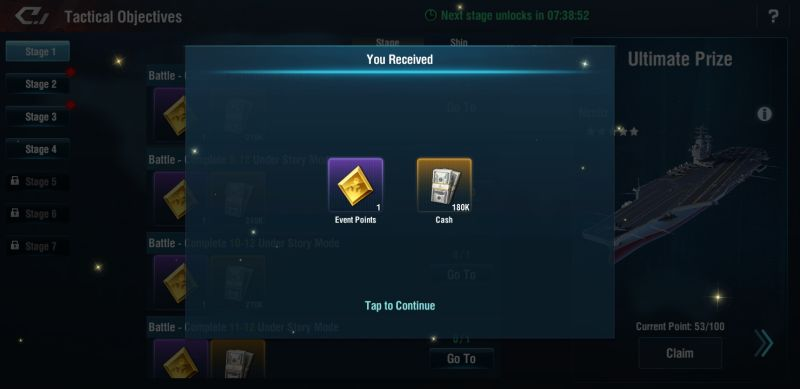 how to take advantage of events in warship legend