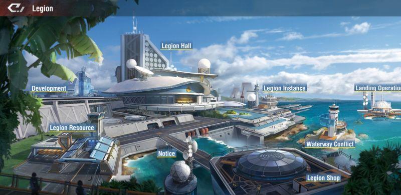 warship legend legion