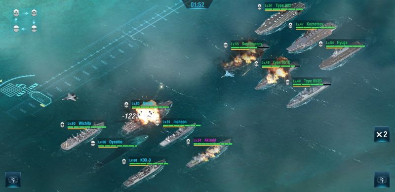 how to complete the story campaign in warship legend