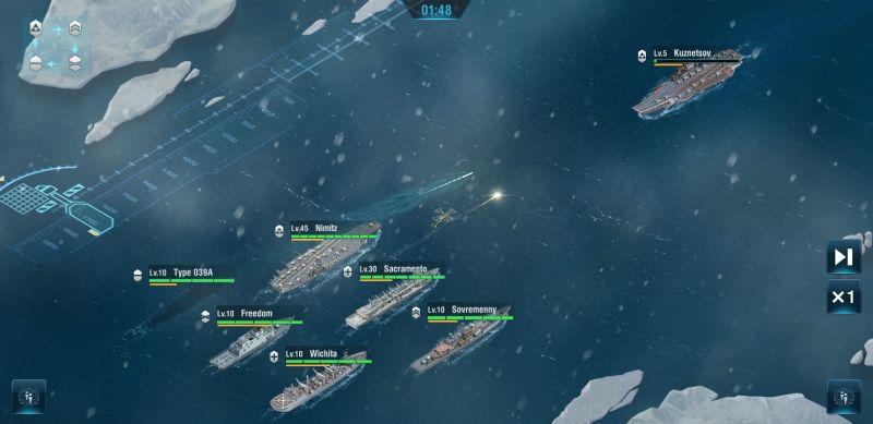 warship legend tactics