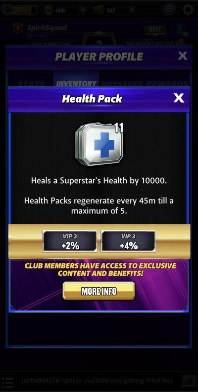 wwe champions 2020 health pack