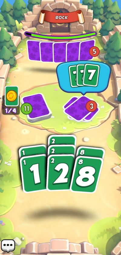 keeping track of cards in bluff plus