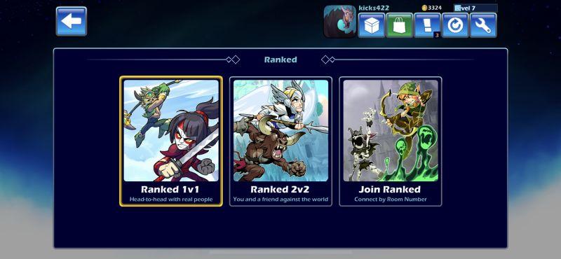 brawlhalla ranked mode