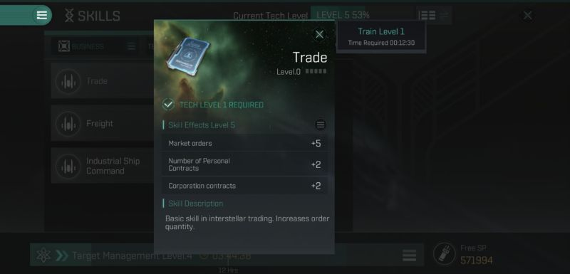business pilot career in eve echoes