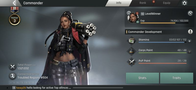 crossfire warzone commander