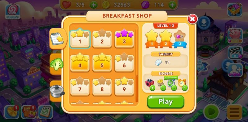 how to use boosts in cooking frenzy