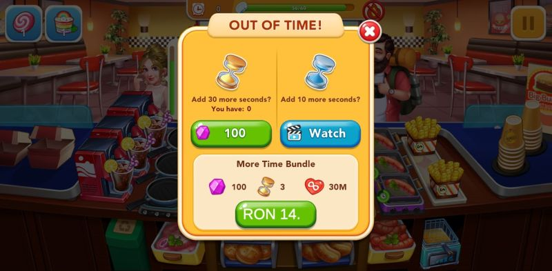 cooking frenzy hints