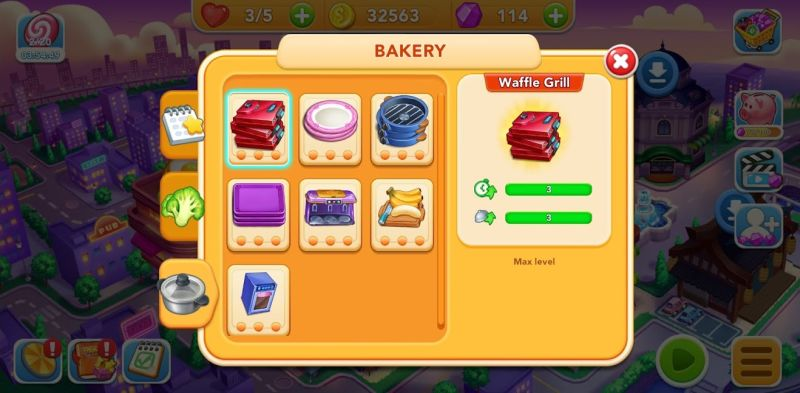 how to upgrade ingredients in cooking frenzy