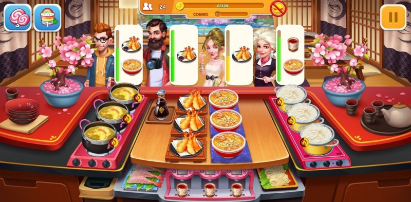 how to prepare dishes in cooking frenzy