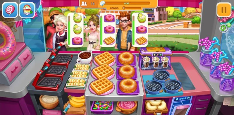 cooking frenzy strategies