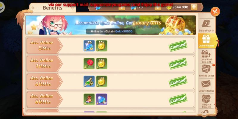 how to take advantage of events in gaia odyssey
