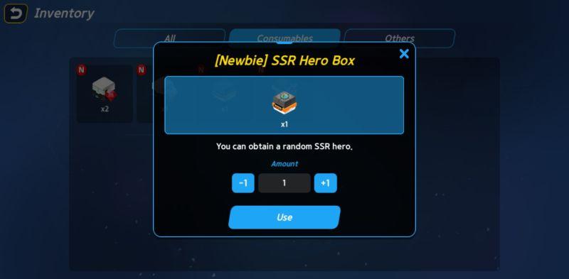 hero ball z inventory