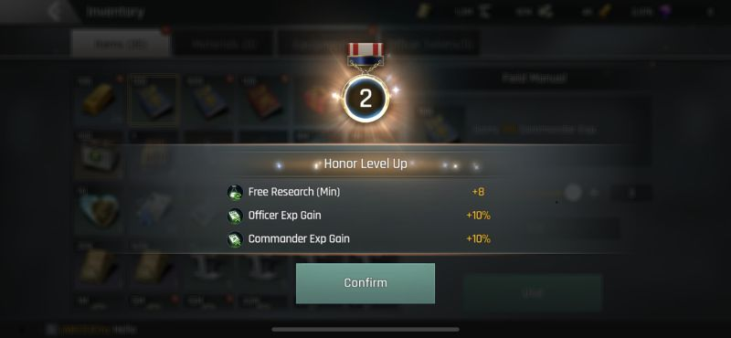 crossfire warzone honor