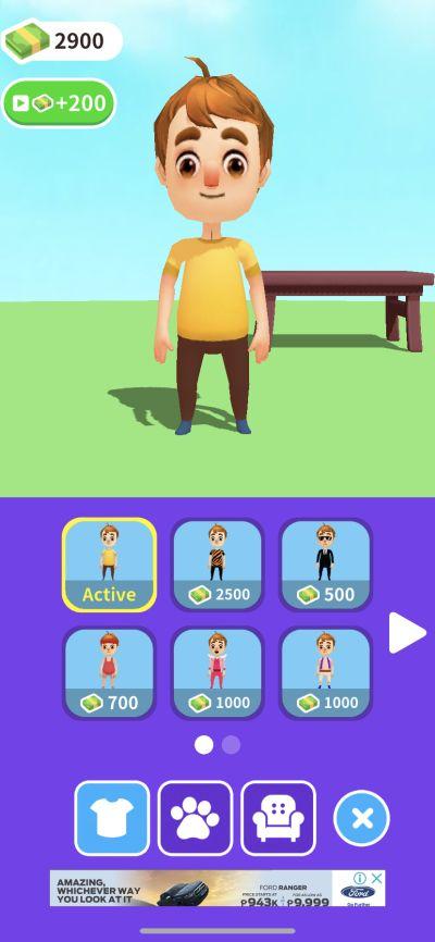 hyper jobs character customization