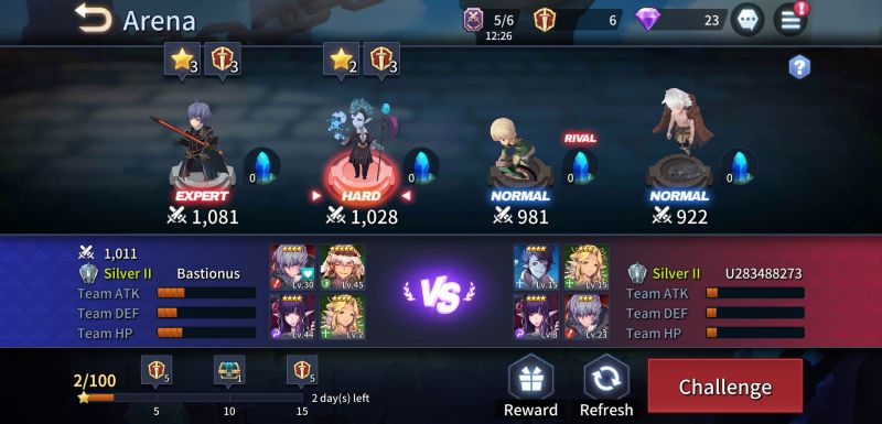 kingdom of heroes tactics war arena
