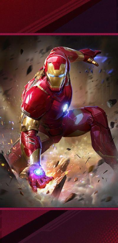 marvel duel iron man deck