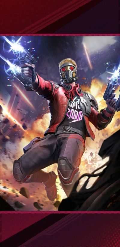 marvel duel star-lord deck