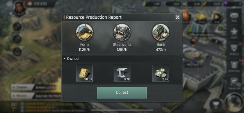 crossfire warzone resource production