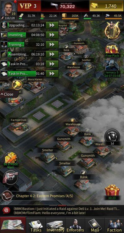 how to multitask in the grand mafia