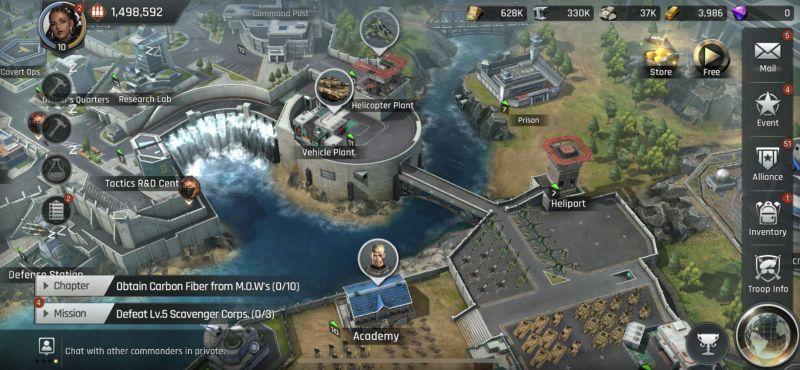crossfire warzone unit buildings