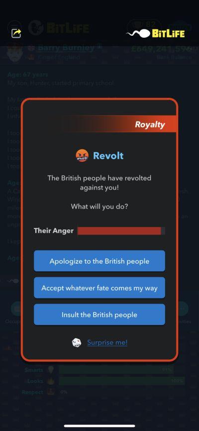 бунт в битлайф