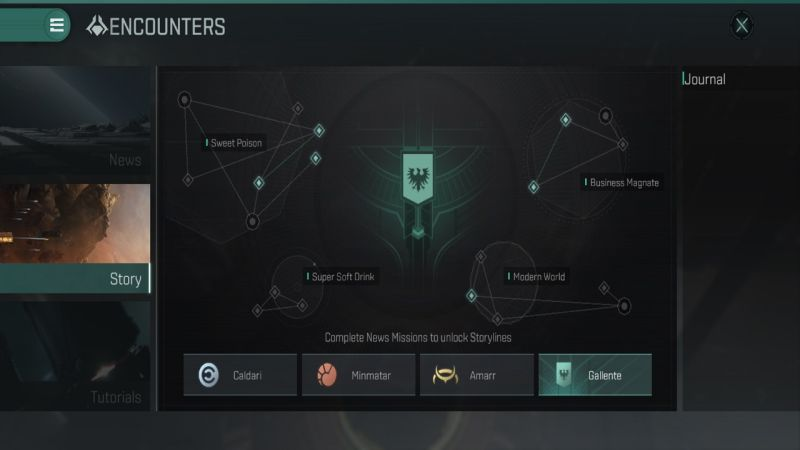 eve echoes encounters story missions