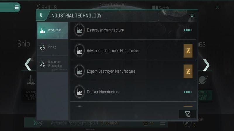 Eve перекликается с навыками промышленного производства