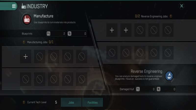 eve echoes industry