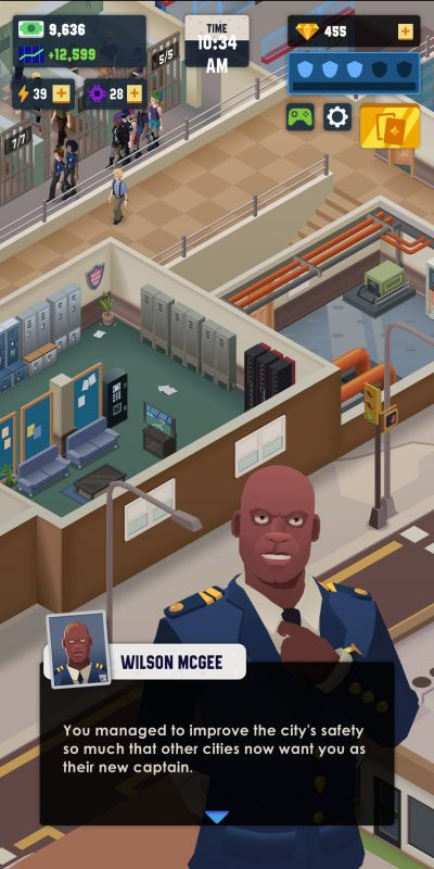 how to expand your business in idle police tycoon