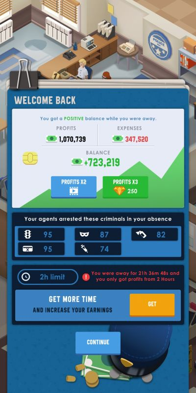 how to boost profit in idle police tycoon