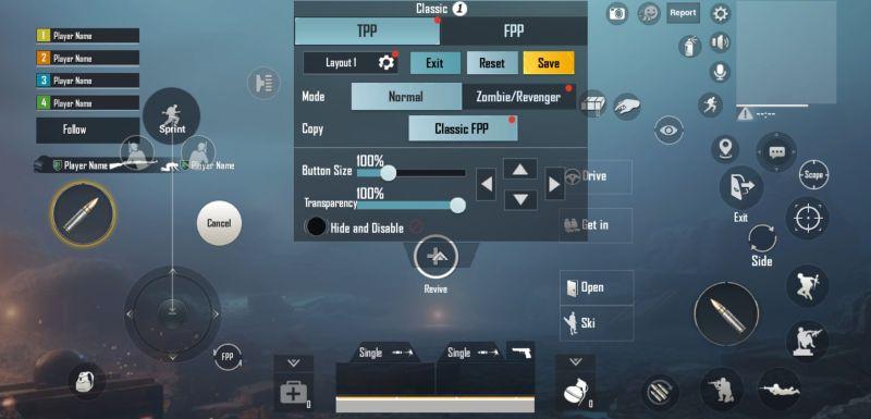 pubg mobile new era settings