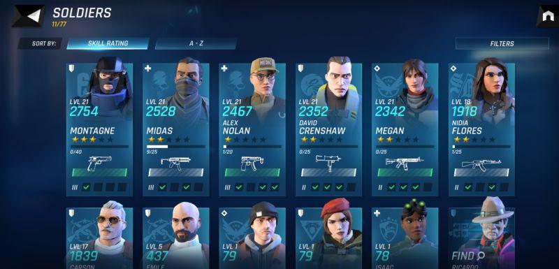состав команды элитного отряда тома клэнси