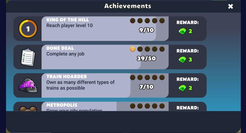 trainstation 2 achievements