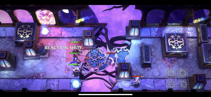 warhammer quest silver tower reaction shot