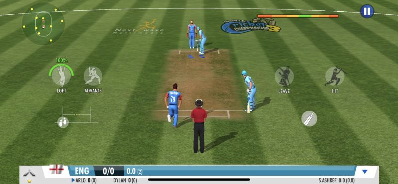 world cricket championship 3 batting tips