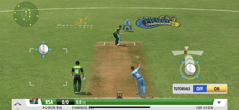 world cricket championship 3 bowling tips