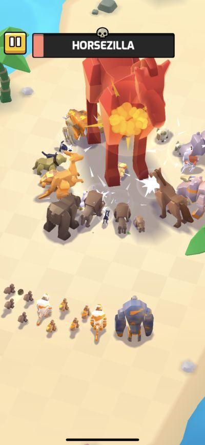 animal warfare horsezilla