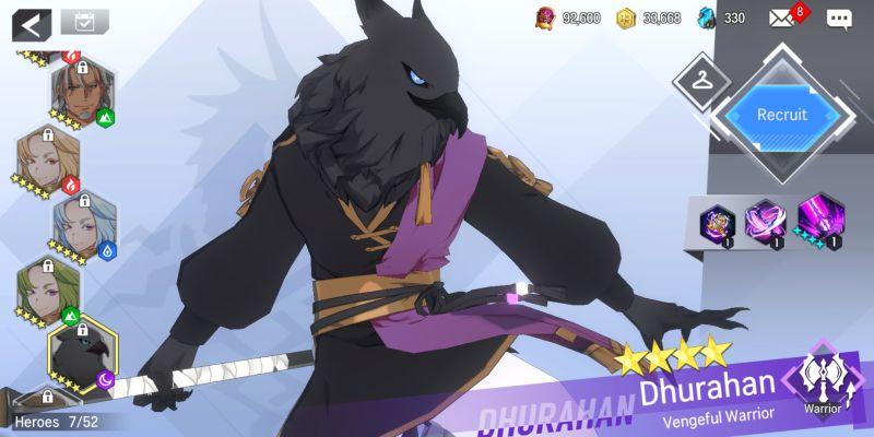 дурахан мстительный воин повелитель героев