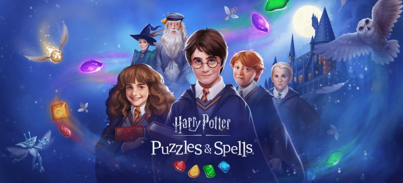 harry potter puzzles & spells guide