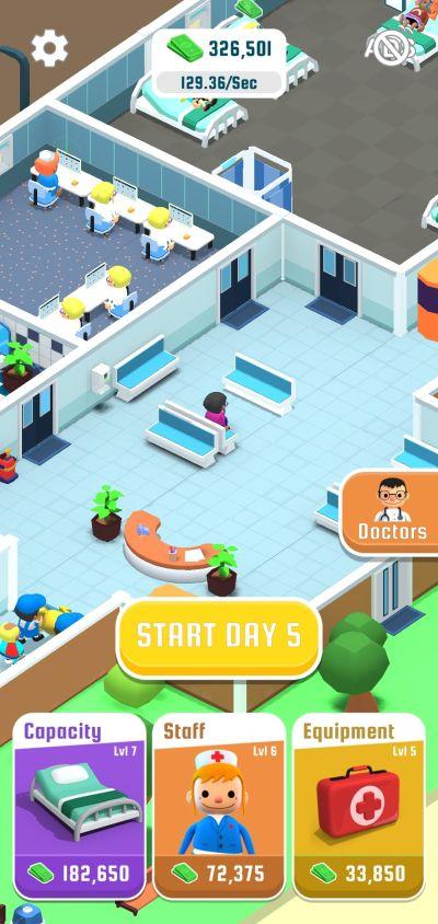 hospital inc gameplay