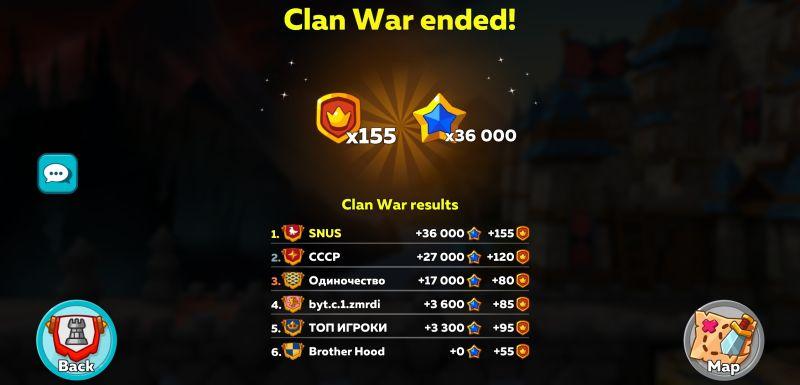 how to win clan war in hustle castle