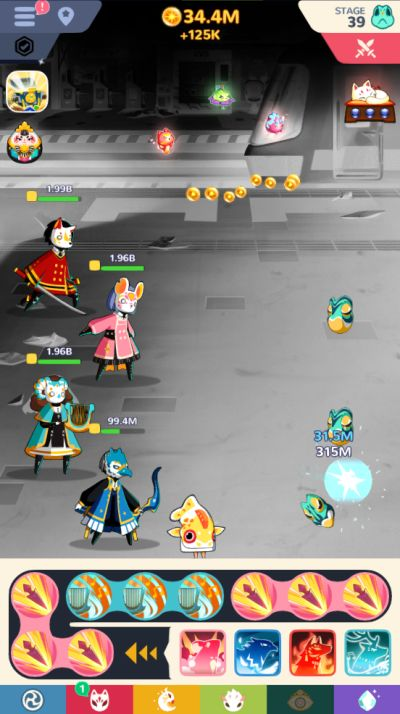 how to defeat bosses in masketeers idle has fallen