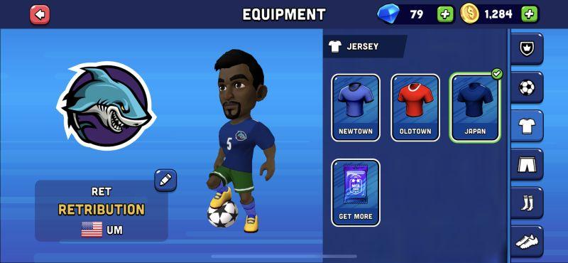 mini football equipment
