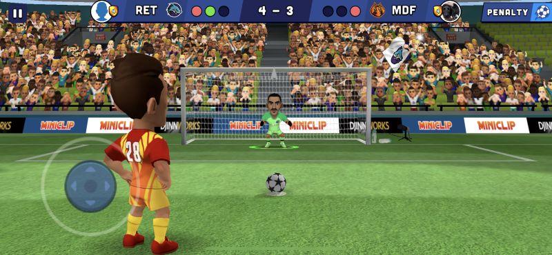 how to shoot penalties in mini football