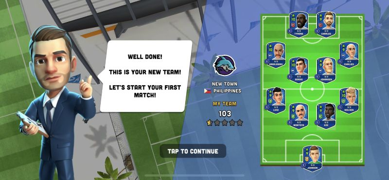 mini football team